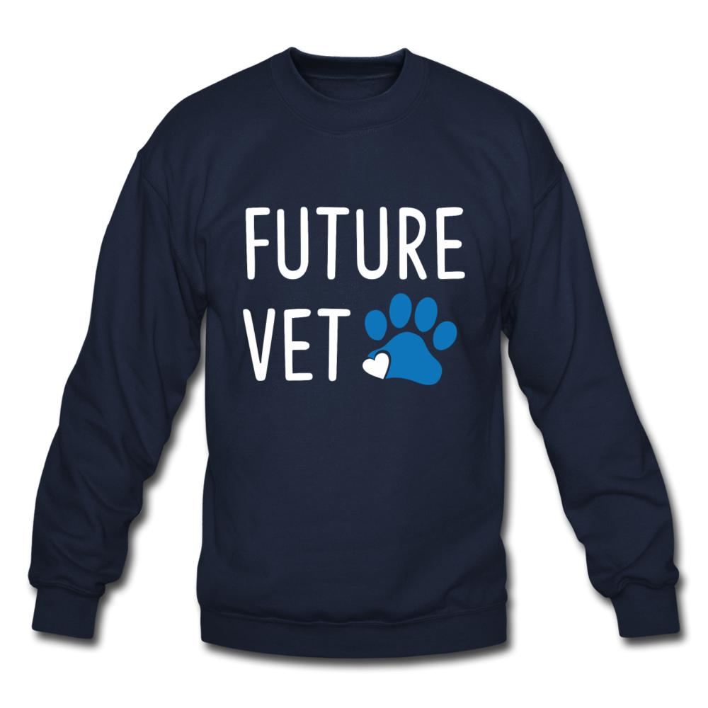 Future Vet Crewneck Sweatshirt-Crewneck Sweatshirt-I love Veterinary