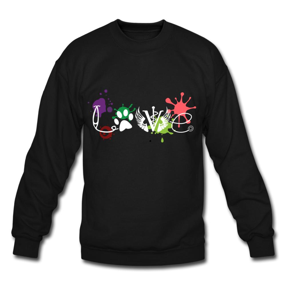 LOVE Veterinary Medicine Crewneck Sweatshirt-Crewneck Sweatshirt-I love Veterinary