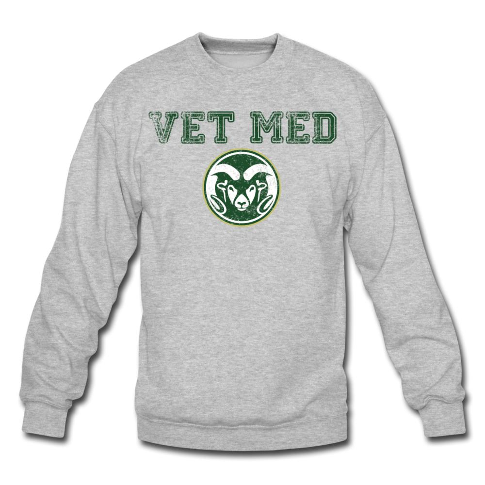 Vet Med Ram Custom Crewneck Sweatshirt-Crewneck Sweatshirt-I love Veterinary