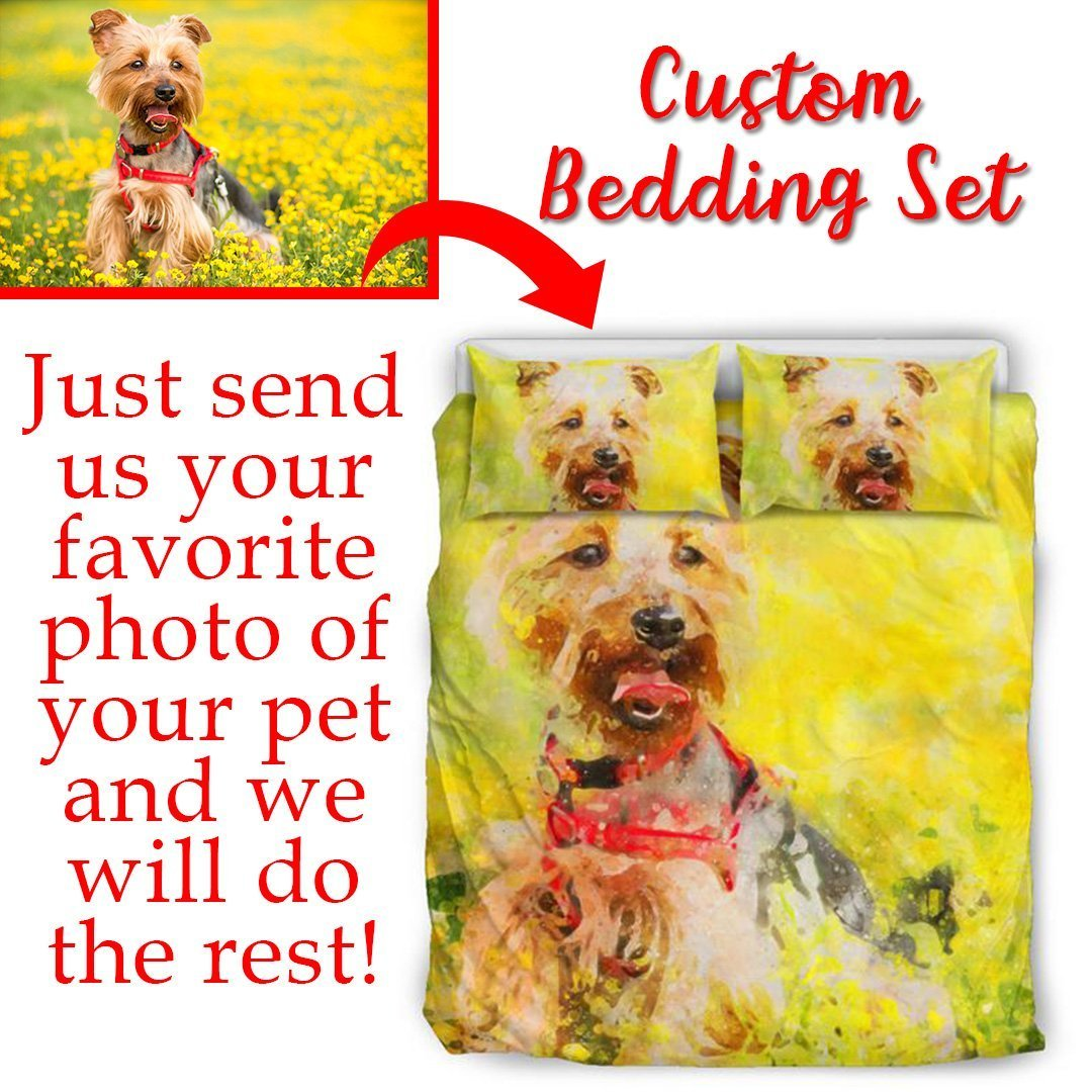 Custom Bedding Set-Custom Bedding Set-I love Veterinary