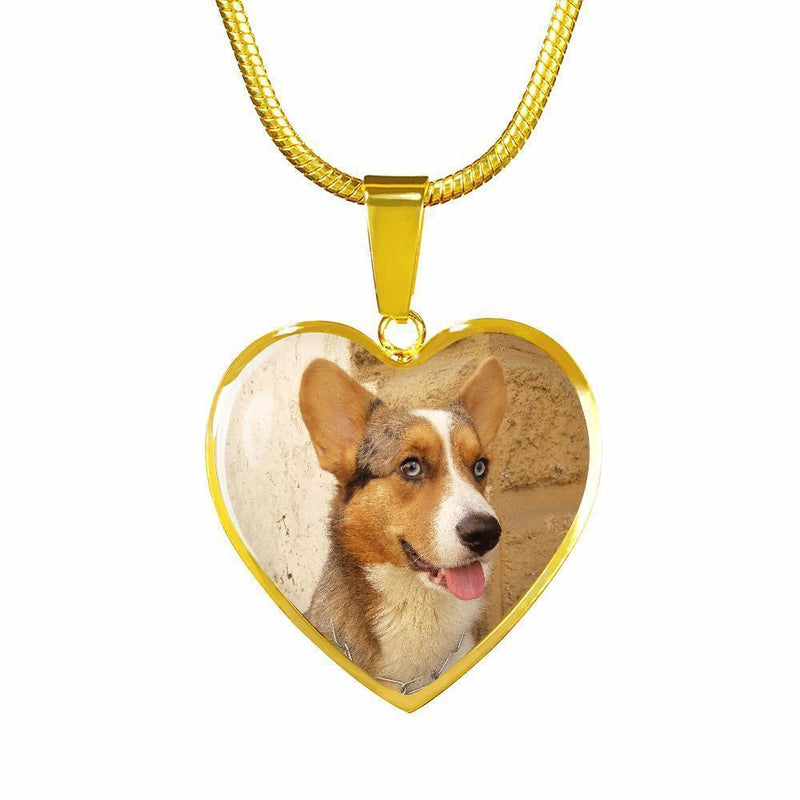 Pet Memorial Gift Personalized with a pet photo Jewelry Gift Luxury Circle Necklace-Custom Necklace-I love Veterinary