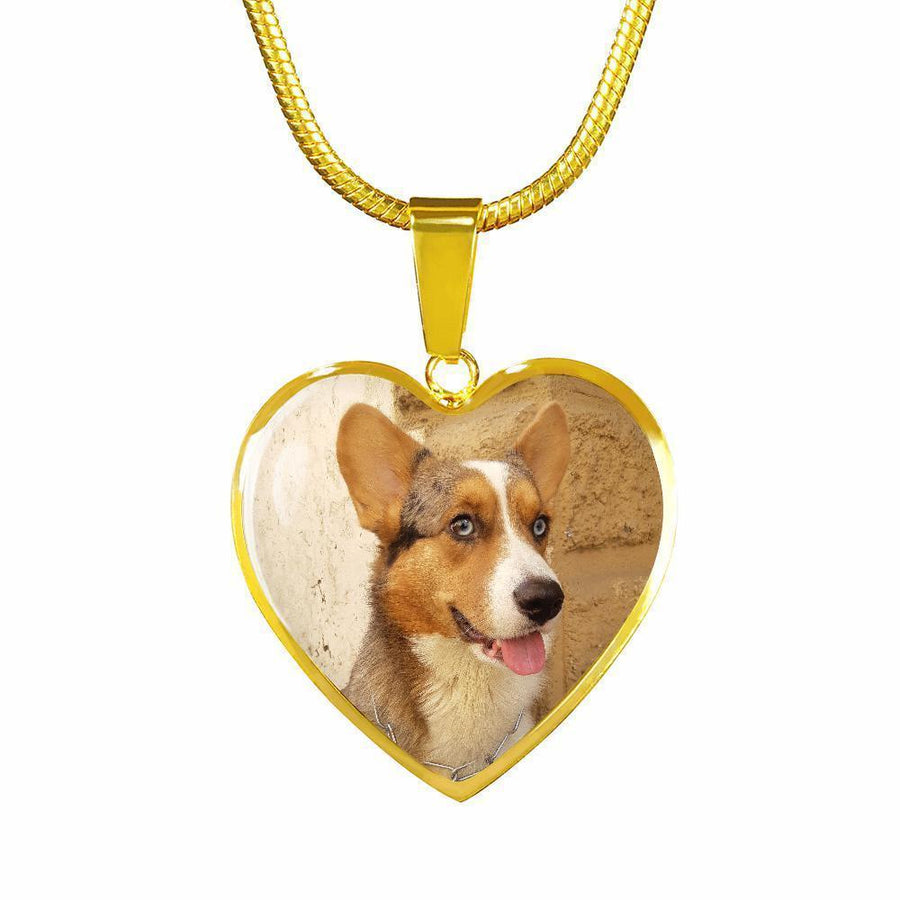 Pet Memorial Gift Personalized with a pet photo Jewelry Gift Luxury Circle Necklace