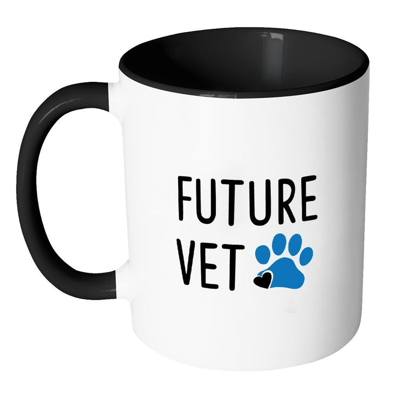 Vet Student Inner Color Mug 11oz - Future Vet-Drinkware-I love Veterinary