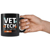 Vet Tech - In Progress 11oz Black Mug-Drinkware-I love Veterinary