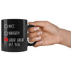 Vet Tech - Nice, Naughty, Great 11oz Black Mug-Drinkware-I love Veterinary