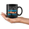 Vet Tech - You can't scare me, my mom is a Vet Tech 11oz Black Mug-Drinkware-I love Veterinary
