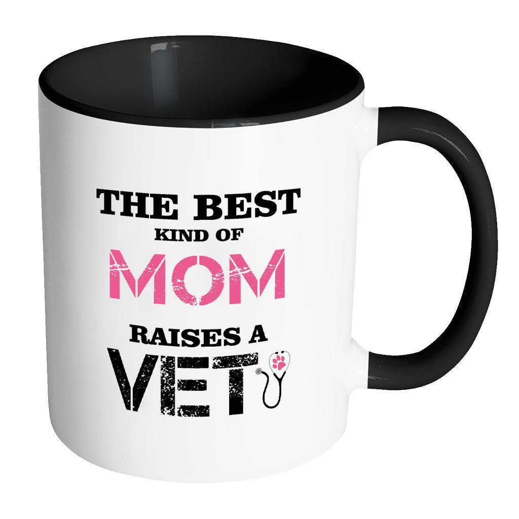 Veterinarian Inner Color Mug 11oz - The best kind of Mom raises a Veterinarian-Drinkware-I love Veterinary