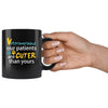 Veterinarian - Our patients are cuter than yours 11oz Black Mug-Drinkware-I love Veterinary
