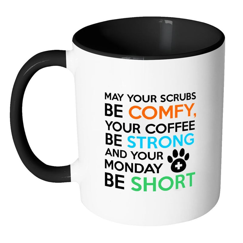 Veterinary Inner Color Mug 11oz - Veterinary Monday Prayer-Drinkware-I love Veterinary