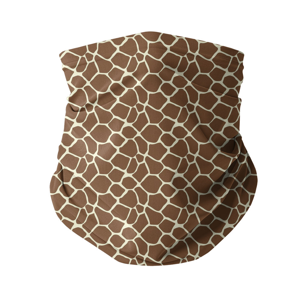 Giraffe skin pattern Sublimation Neck Gaiter-Accessories-I love Veterinary
