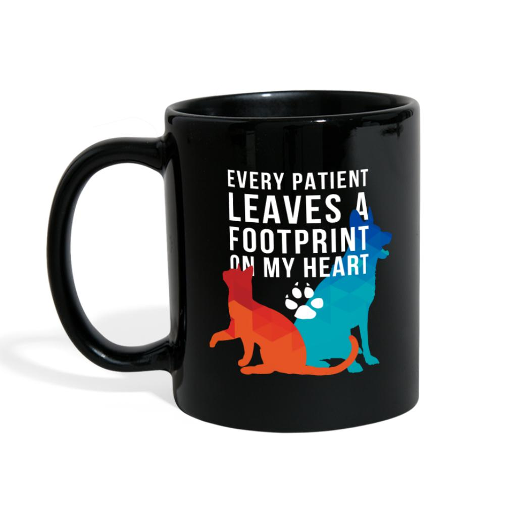Every patient leaves a footprint on my heart Full Color Mug-Full Color Mug-I love Veterinary