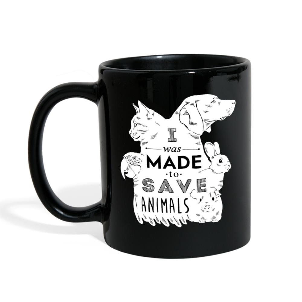 I was made to save animals Full Color Mug-Full Color Mug-I love Veterinary