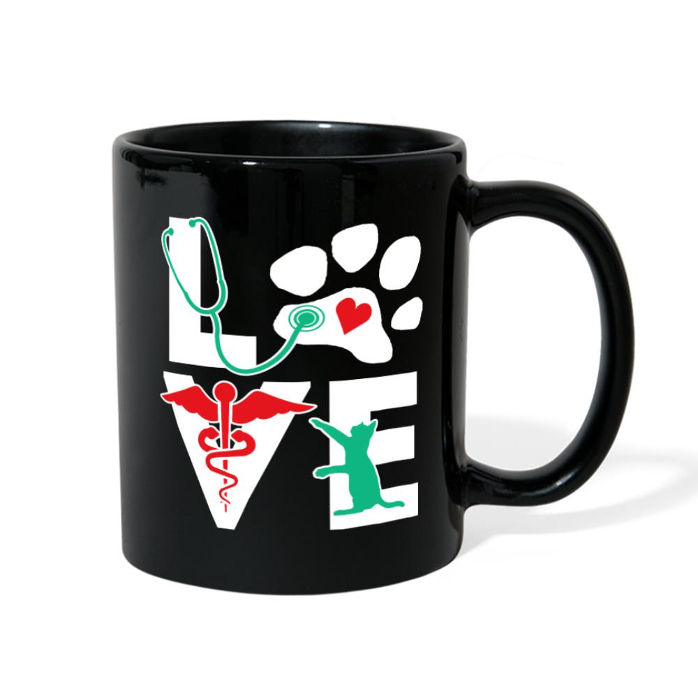 Love Cat Full Color Mug-Full Color Mug-I love Veterinary