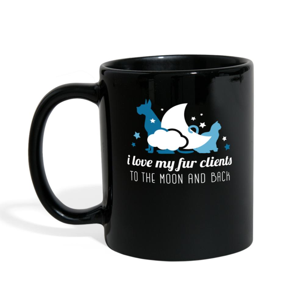 Love my fur clients to the moon and back Full Color Mug-Full Color Mug-I love Veterinary
