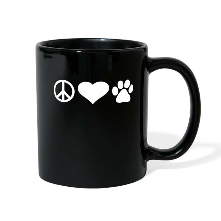 Piece Love Pets Full Color Mug