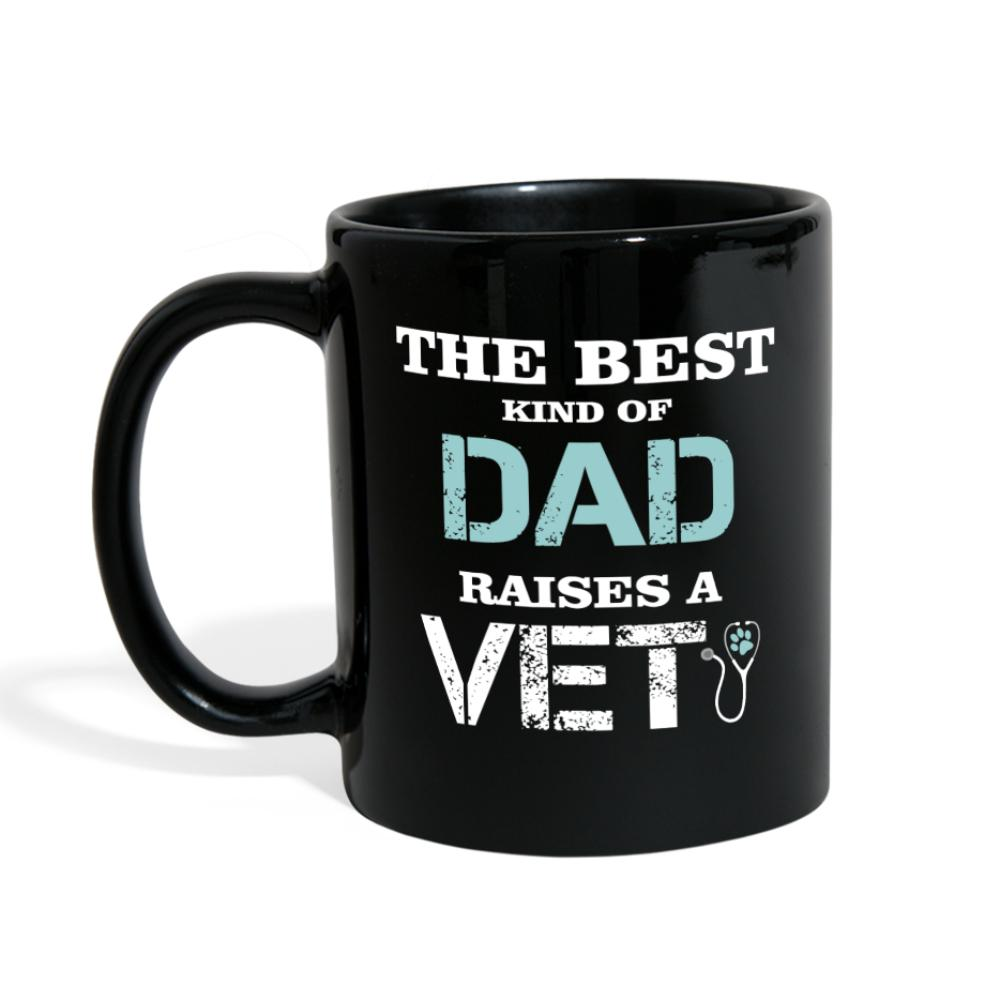 The best kind of Dad raises a Vet Full Color Mug-Full Color Mug-I love Veterinary