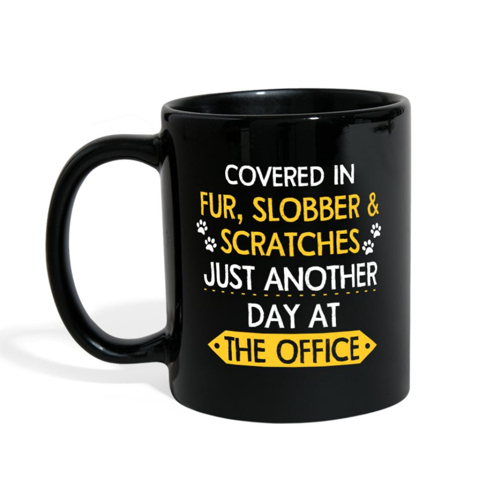 Veterinary - Fur, Slobber, Scratches Full Color Mug-Full Color Mug-I love Veterinary