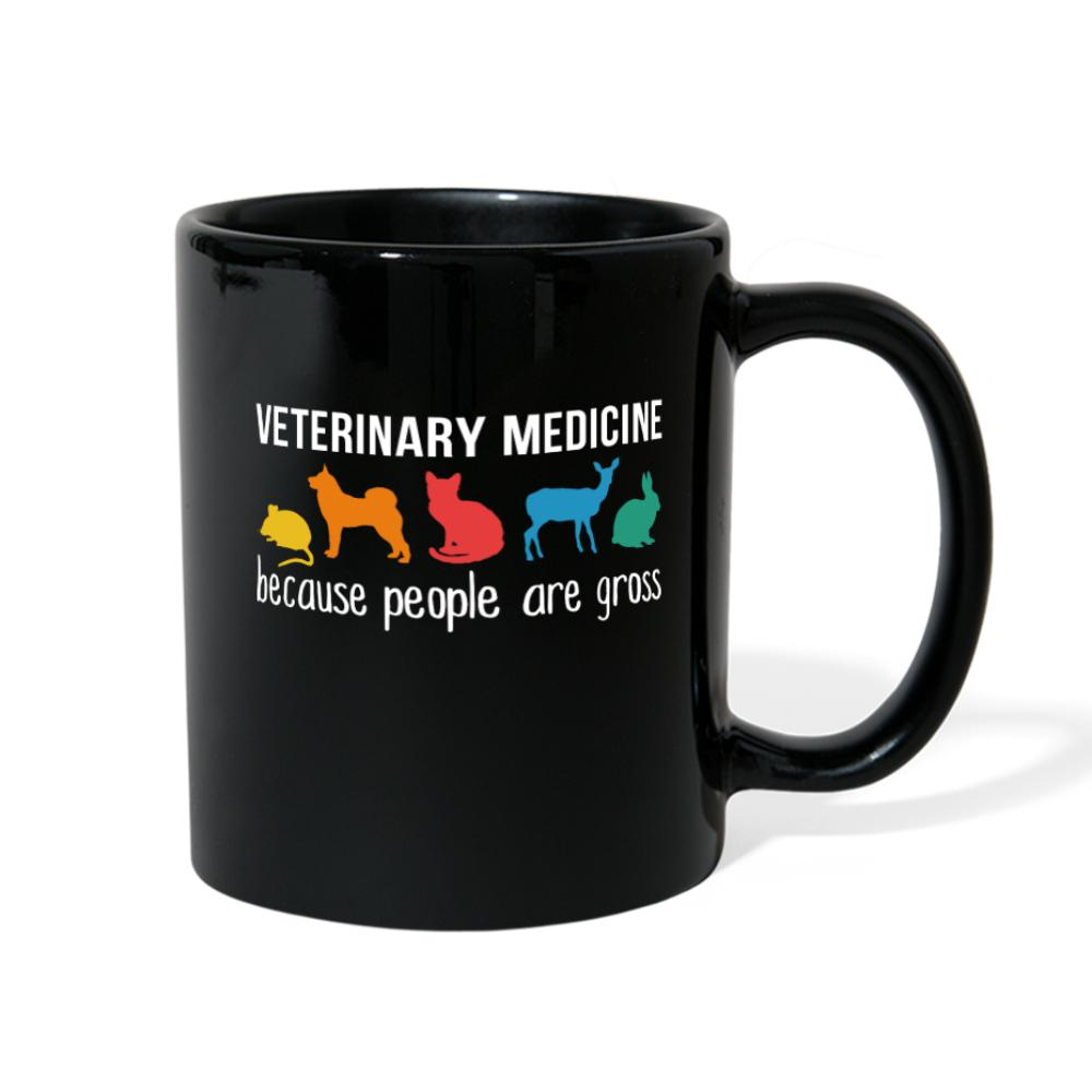 Veterinary Medicine because people are gross Full Color Mug-Full Color Mug-I love Veterinary