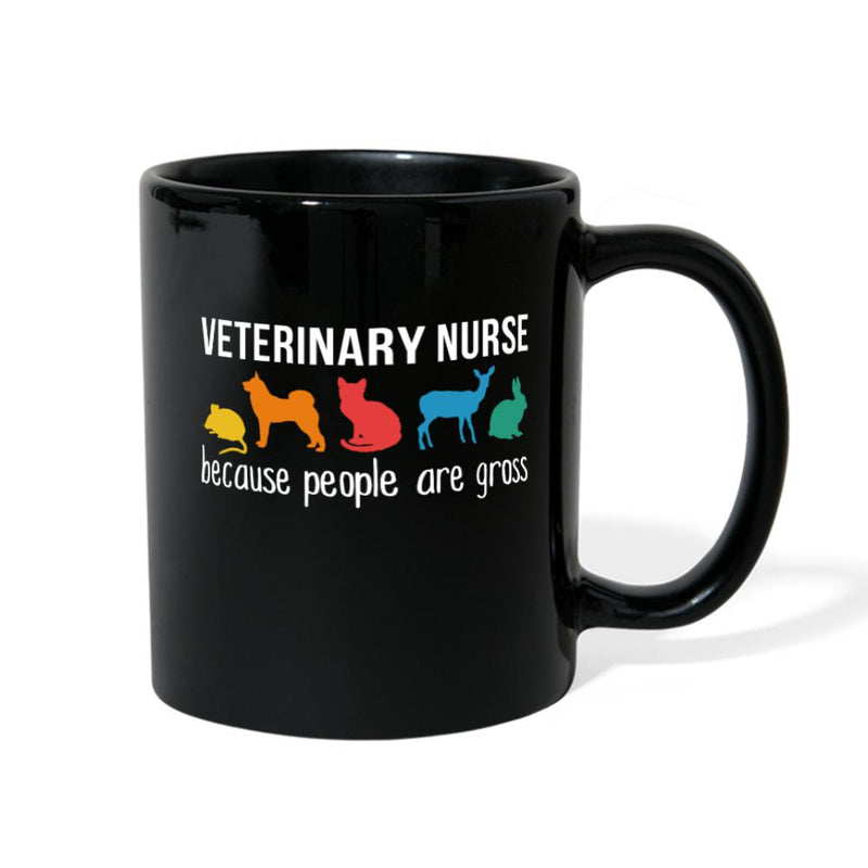 Veterinary Nurse because people are gross Full Color Mug-Full Color Mug-I love Veterinary