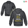 49% Vet tech 51% Badass Unisex Zip Hoodie-Gildan Heavy Blend Adult Zip Hoodie-I love Veterinary