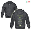 Vet Tech - Know how to handle it Unisex Zip Hoodie-Gildan Heavy Blend Adult Zip Hoodie-I love Veterinary
