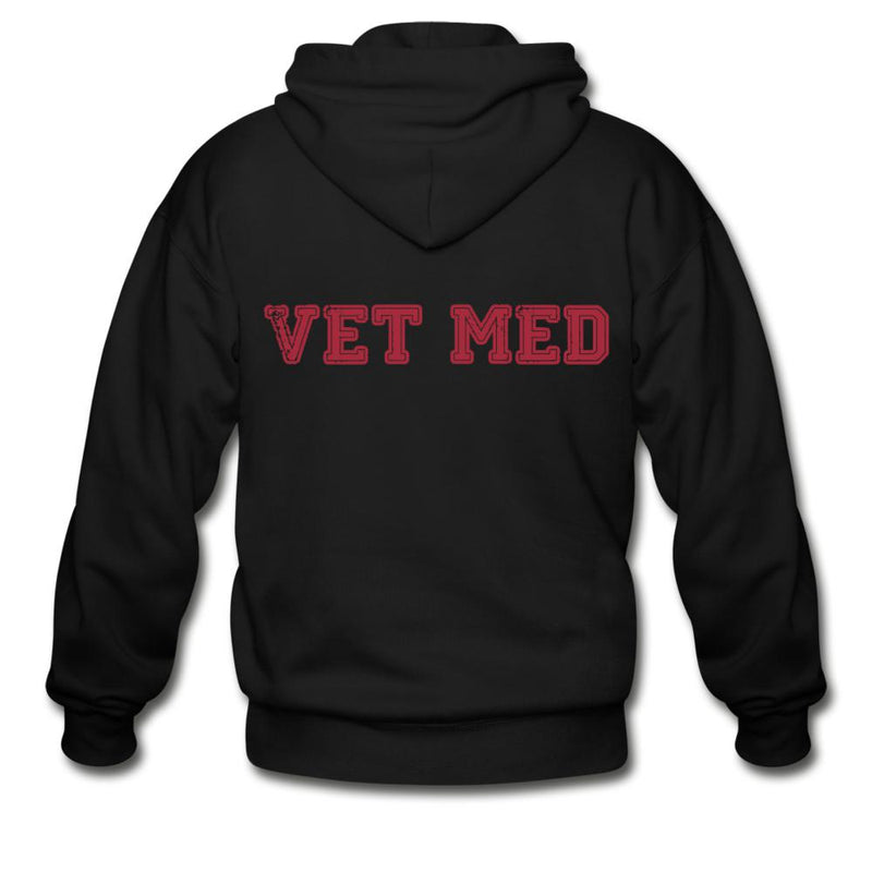 Veterinary - Vet med Unisex Zip Hoodie-Gildan Heavy Blend Adult Zip Hoodie-I love Veterinary