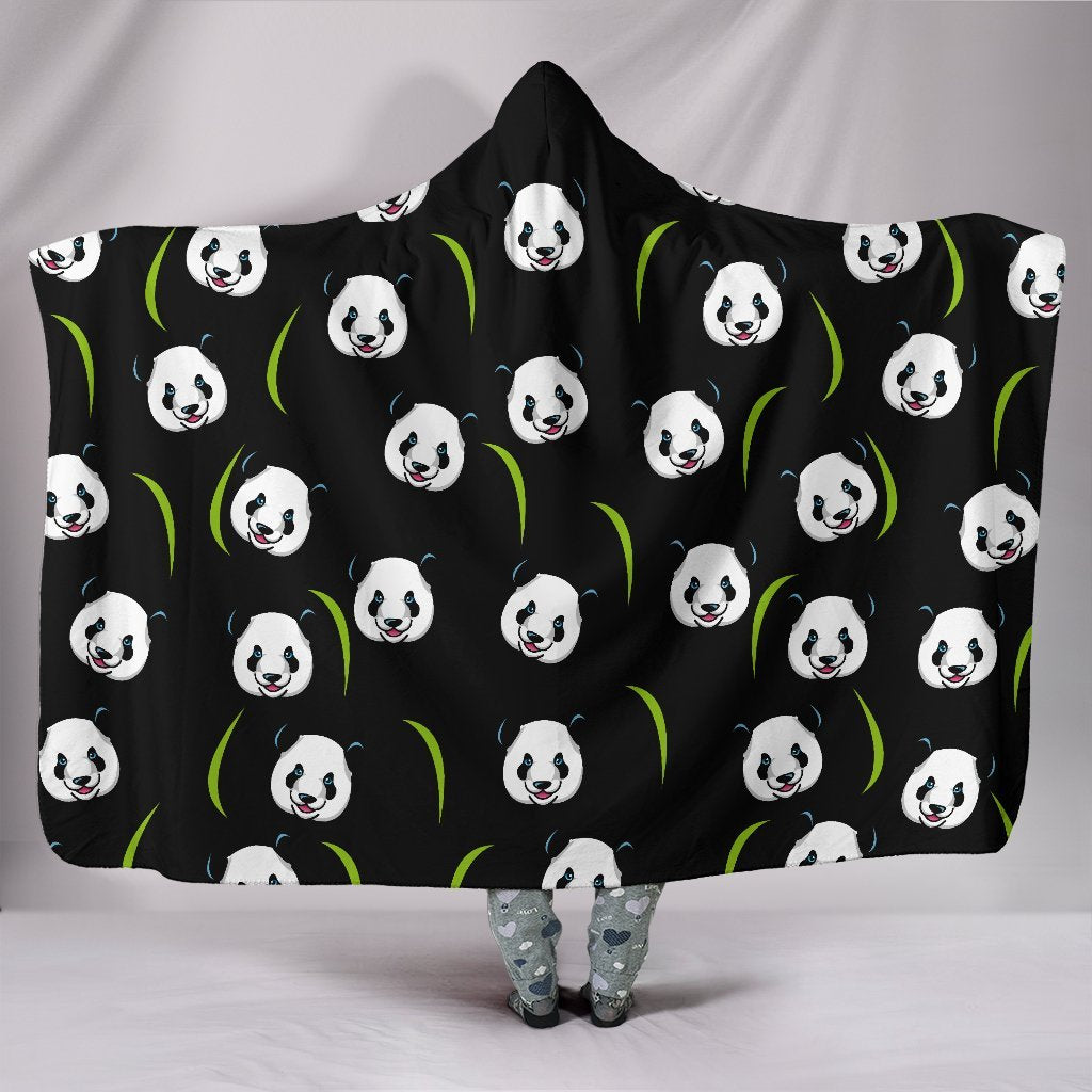 Panda Hooded Blanket-Hooded Blanket-I love Veterinary