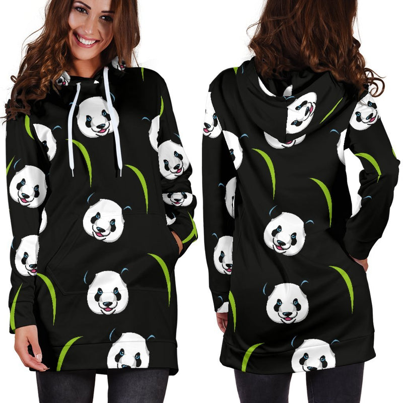 Panda Hoodie Dress-Hoodie Dress-I love Veterinary
