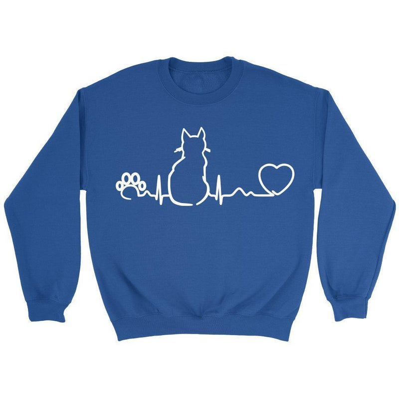 Cat Pulse - Cats - Long Sleeve-Long Sleeve-I love Veterinary