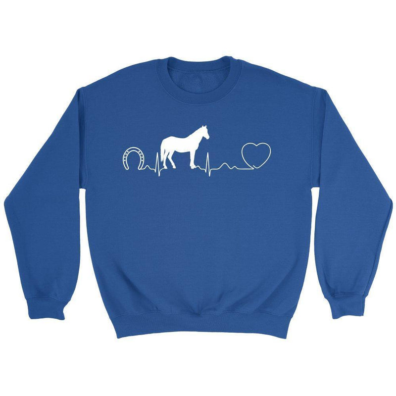 Horse pulse - Large Animal Vet - Long Sleeve-Long Sleeve-I love Veterinary