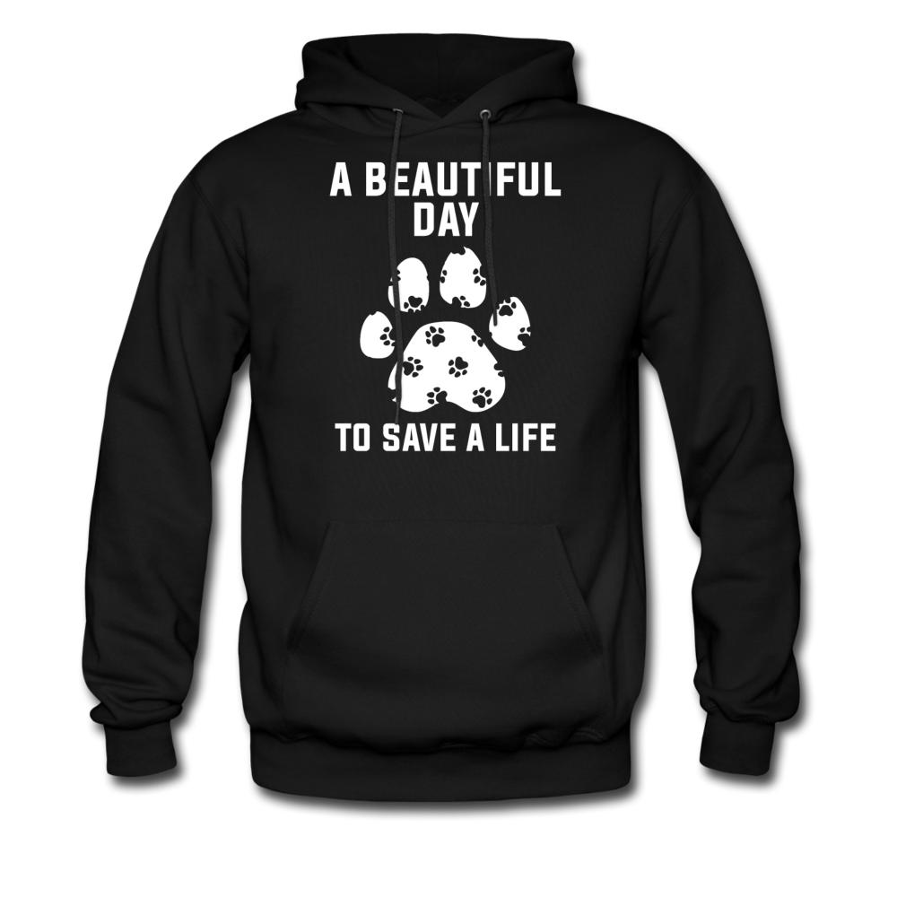 A beautiful day to save a life Unisex Hoodie-Men's Hoodie-I love Veterinary
