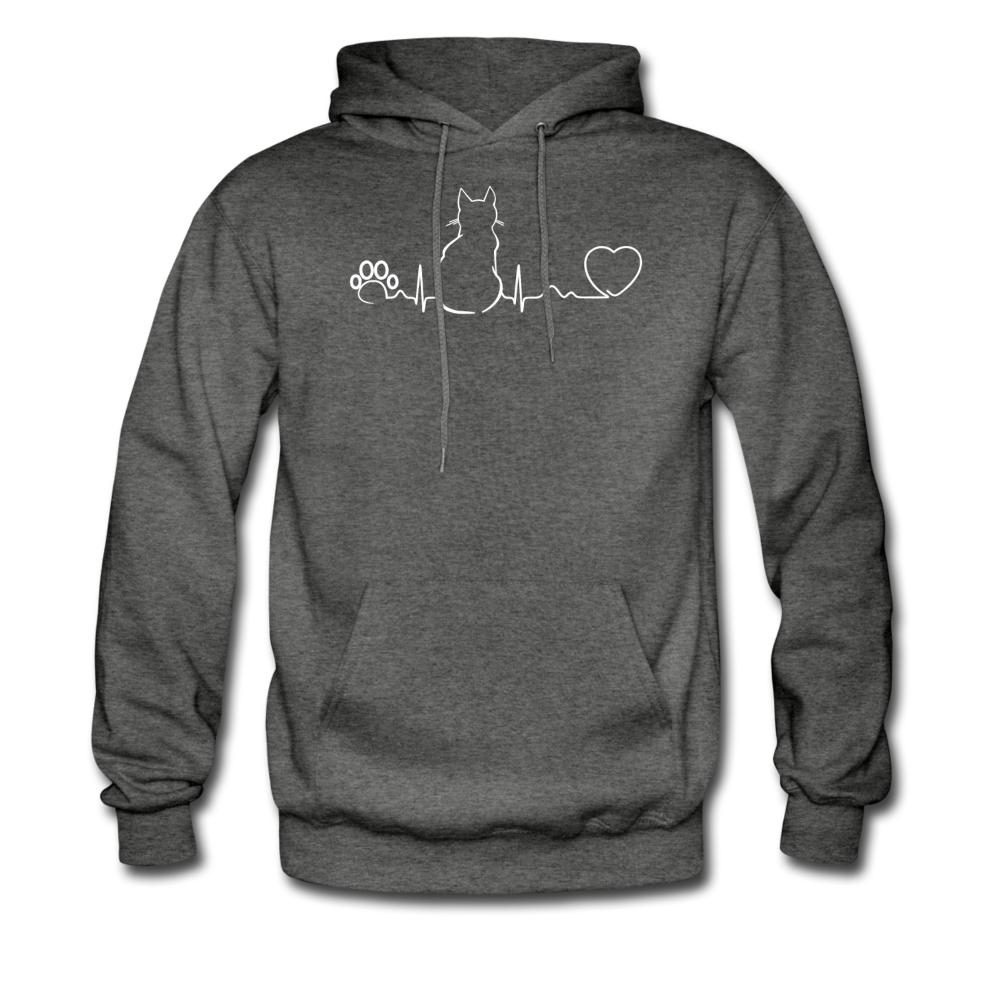 Cat Pulse Unisex Hoodie-Men's Hoodie-I love Veterinary