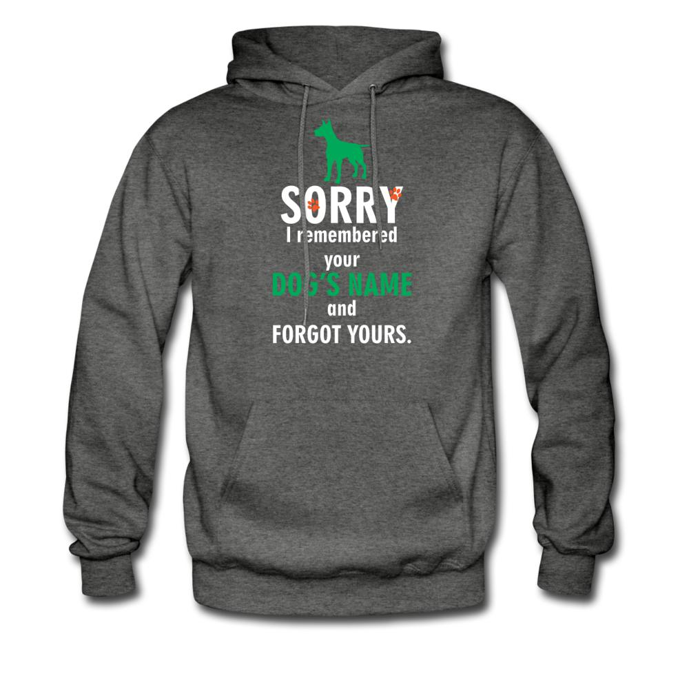 I remembered your dogs name Unisex Hoodie-Men's Hoodie-I love Veterinary
