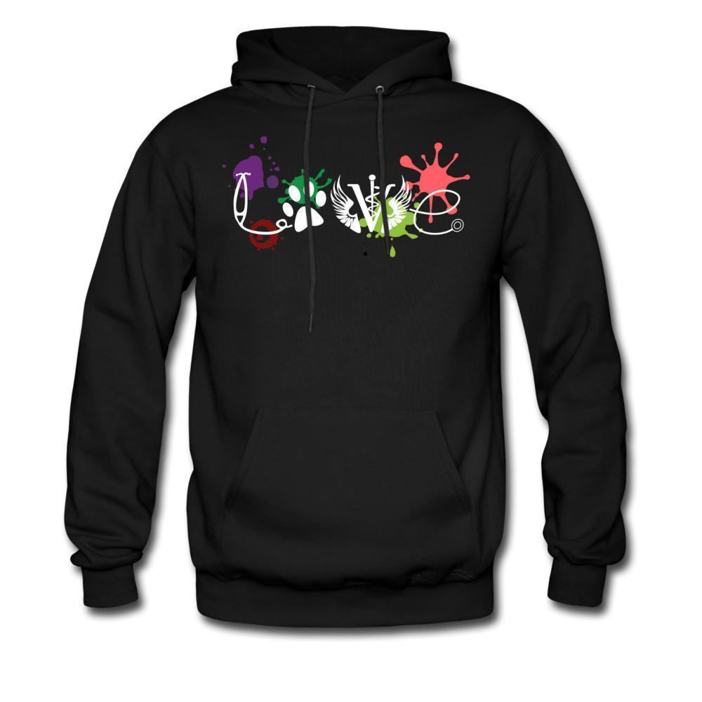 LOVE Veterinary Medicine Unisex Hoodie-Men's Hoodie-I love Veterinary