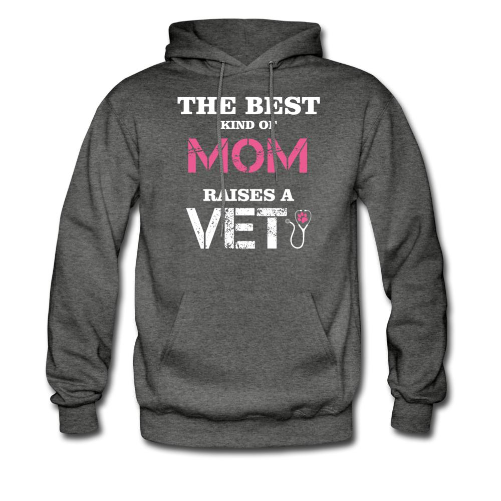 The best kind of Mom raises a Veterinarian Unisex Hoodie-Men's Hoodie-I love Veterinary
