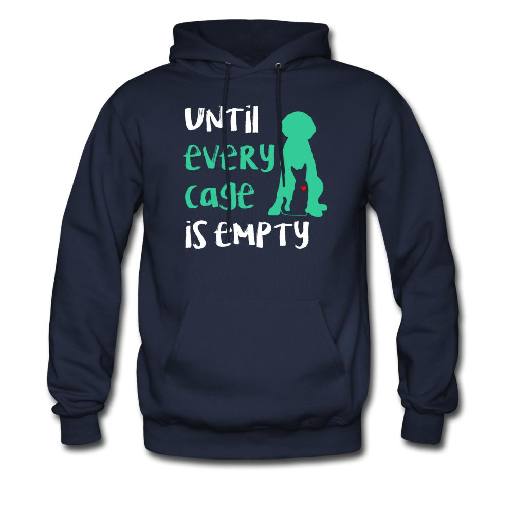 Until every cage is empty Unisex Hoodie-Men's Hoodie-I love Veterinary