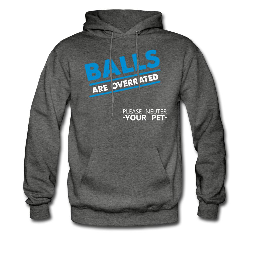 Veterinary - Balls are Overrated Unisex Hoodie-Men's Hoodie-I love Veterinary