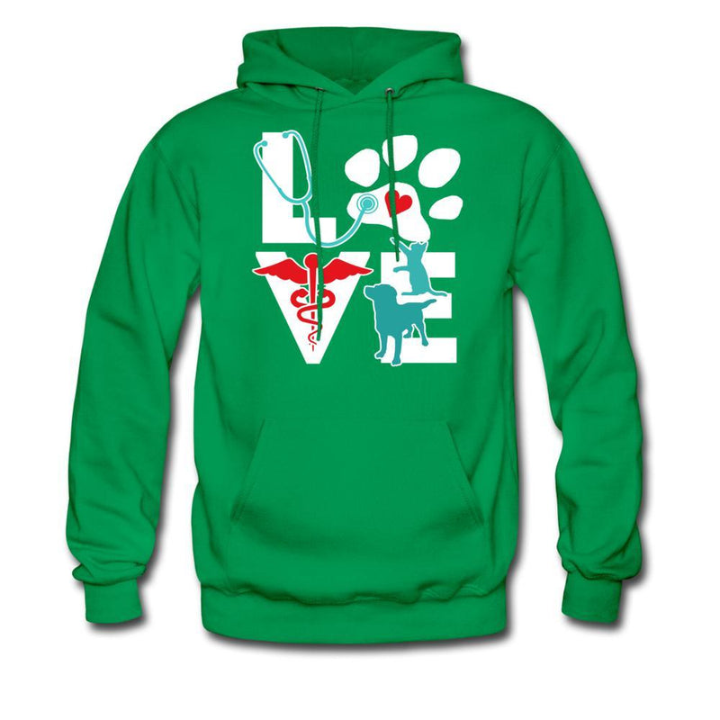 Veterinary Love Dog and Cat Unisex Hoodie