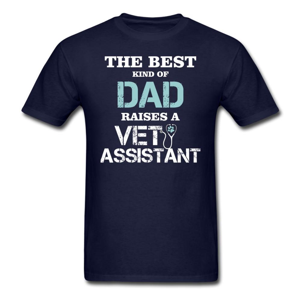 The best kind of Dad raises a Vet Assistant Unisex T-shirt-Unisex Classic T-Shirt | Fruit of the Loom 3930-I love Veterinary