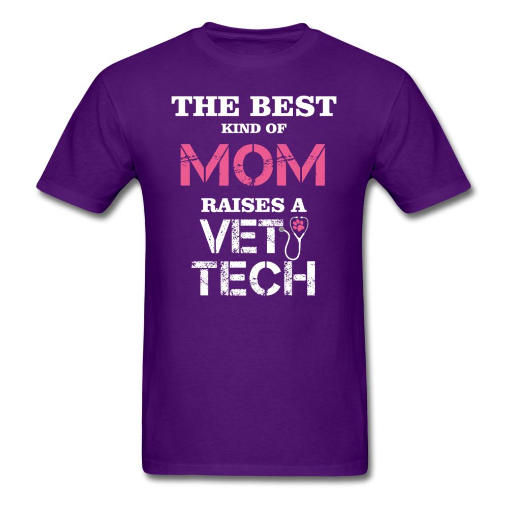 The best kind of Mom raises a Vet Tech Unisex T-shirt-Unisex Classic T-Shirt | Fruit of the Loom 3930-I love Veterinary