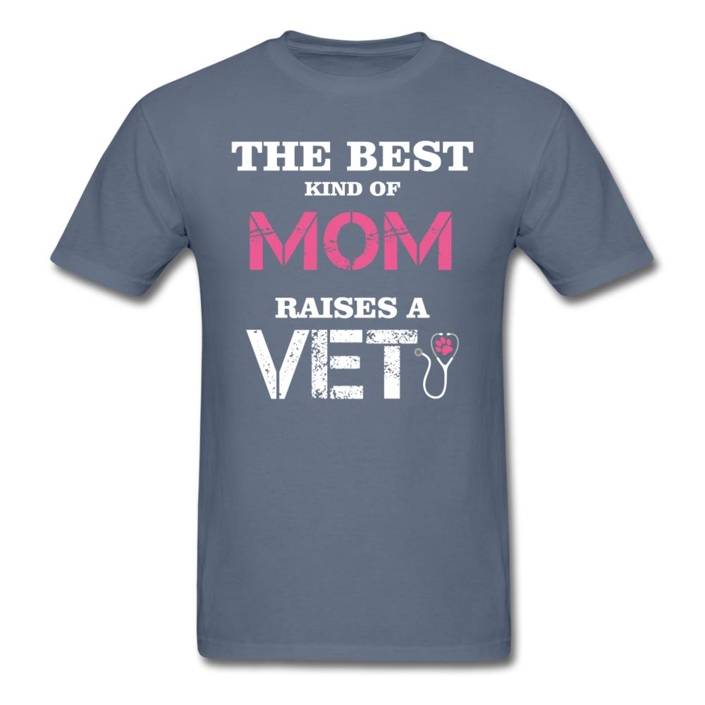 The best kind of Mom raises a Veterinarian Unisex T-shirt-Unisex Classic T-Shirt | Fruit of the Loom 3930-I love Veterinary