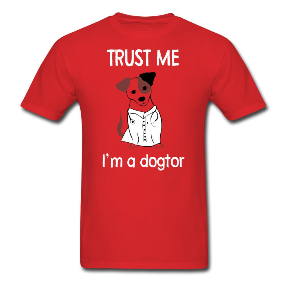 Trust me I'm a dogtor Unisex T-shirt-Unisex Classic T-Shirt | Fruit of the Loom 3930-I love Veterinary