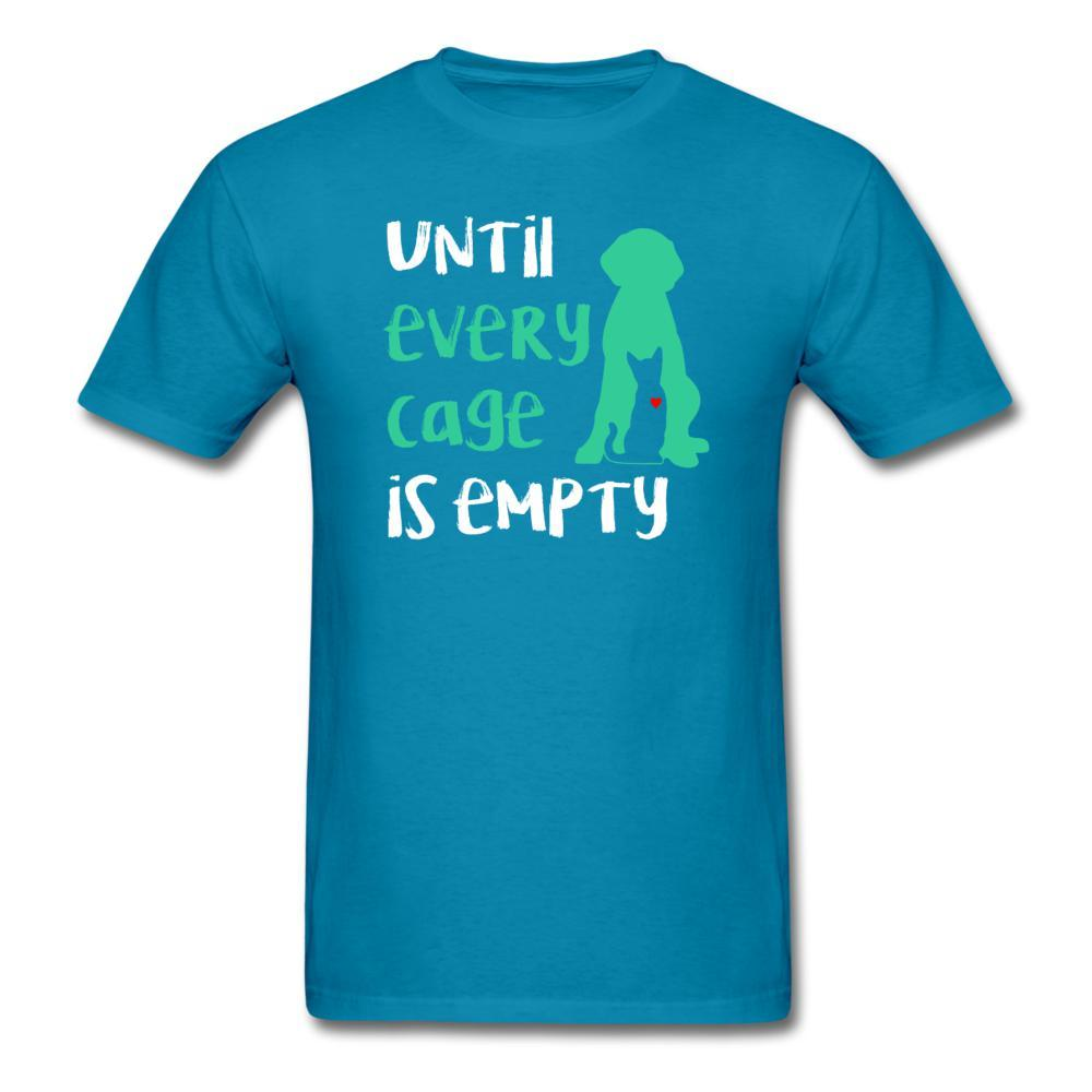 Until every cage is empty Unisex T-Shirt-Unisex Classic T-Shirt | Fruit of the Loom 3930-I love Veterinary