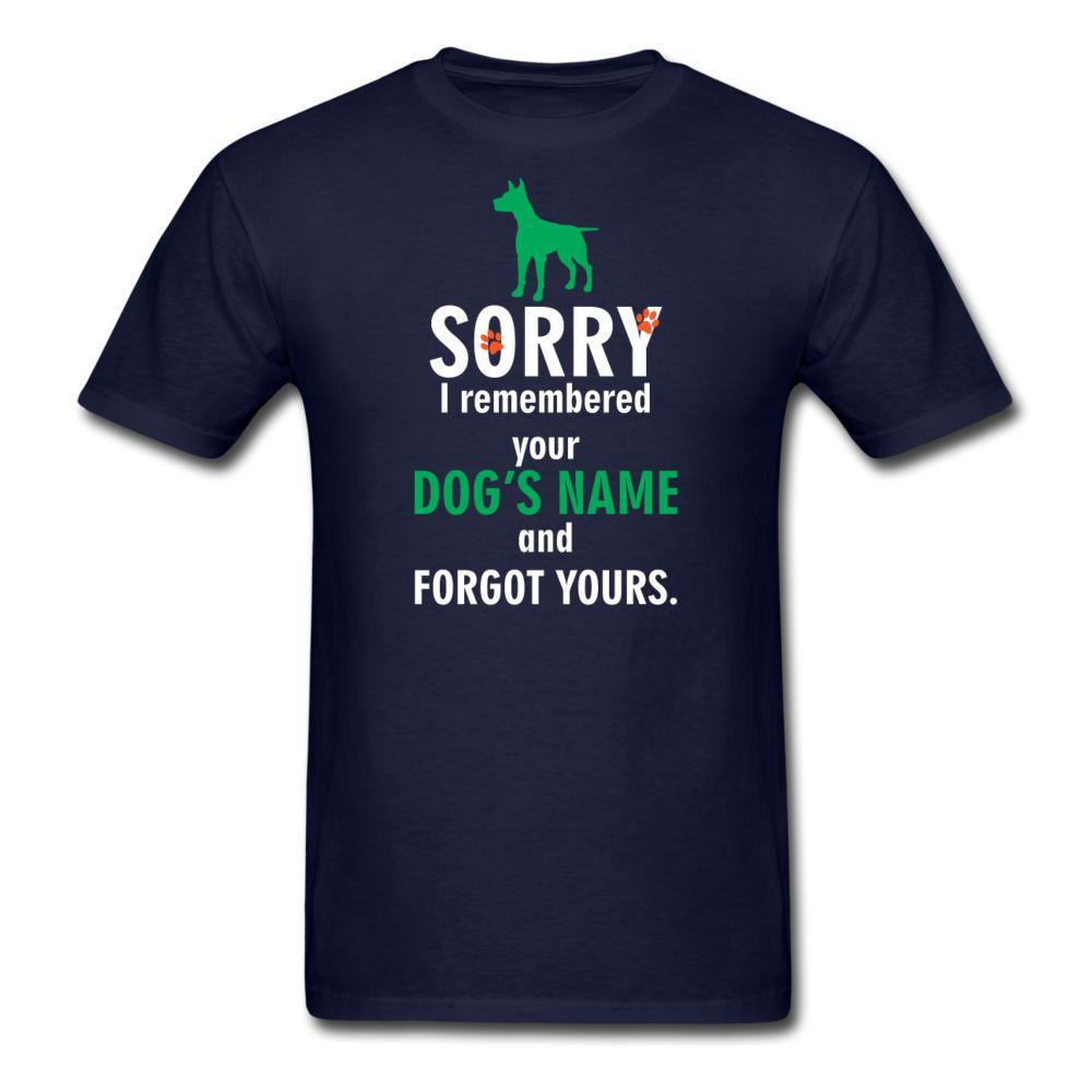 NOMV I remembered your dog's name Unisex T-Shirt-NOMV Unisex T-shirt-I love Veterinary