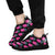 Pink Cylinders with Paw Prints - Women's Sneakers-Sneakers-I love Veterinary