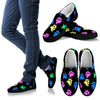 Pawprint Women's Slip Ons-slip ons-I love Veterinary