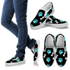 Paws and bones Black Women's Slip Ons-slip ons-I love Veterinary