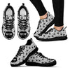 Cute Cat Women's Sneakers-Sneakers-I love Veterinary