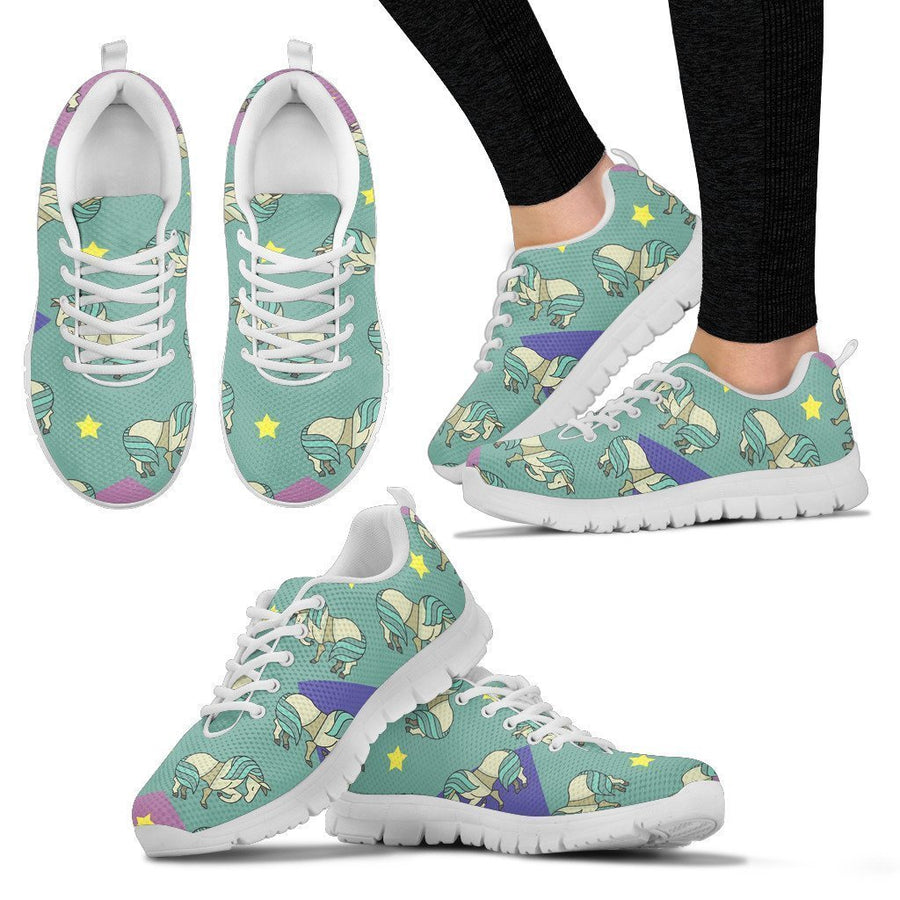 Horses and stars -  Women's Sneakers
