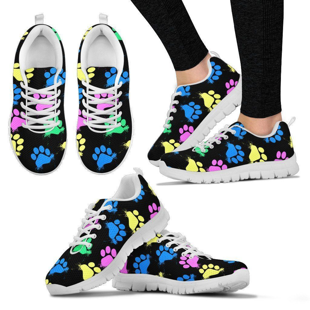 Veterinarian Gift Paw Print Shoes Dog Groomer Gift Dog Lover Gift Tennis Shoes Dog Sneakers Vet Shoes Canvas Shoes Birthday Gift